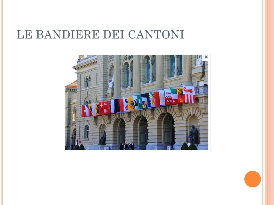 LE BANDIERE DEI CANTONI