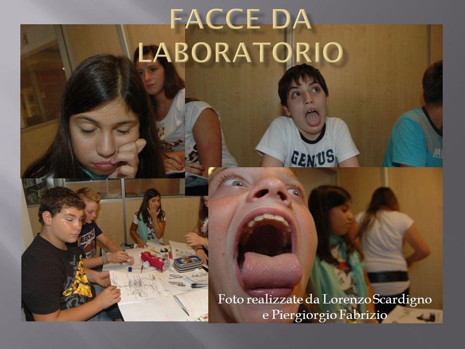 Facce da laboratorio Foto realizzate da Lorenzo Scardigno