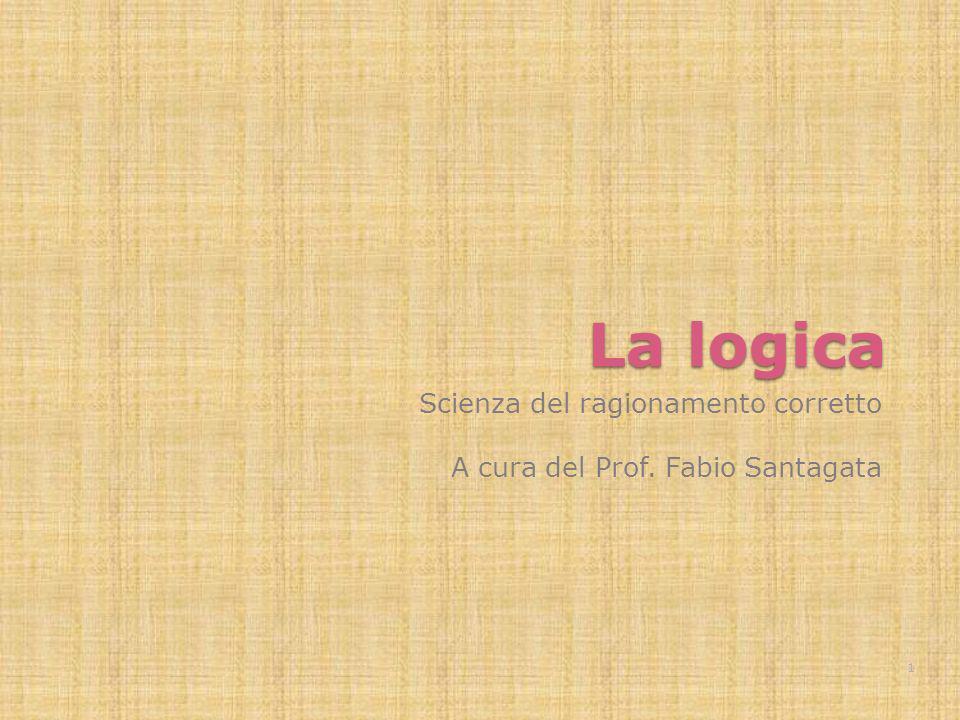 Fabio Santagata - Scienza del ragionamento corretto