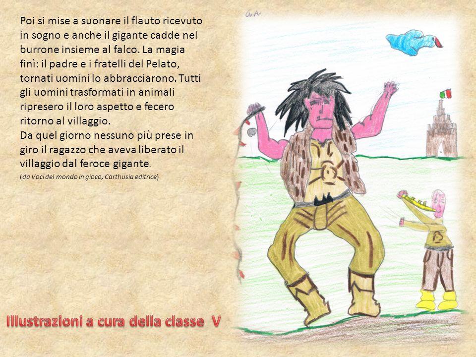 Illustrazioni a cura della classe V