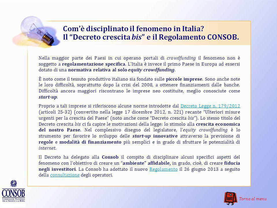 Com'è disciplinato il fenomeno in Italia