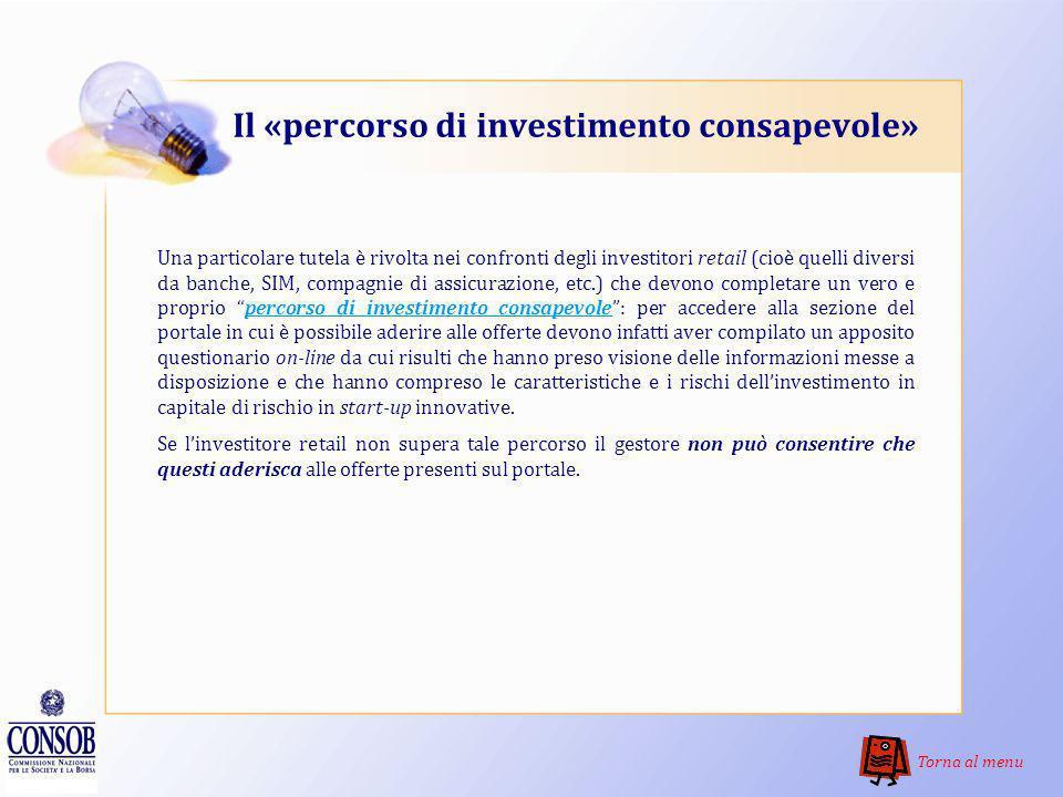 Il «percorso di investimento consapevole»