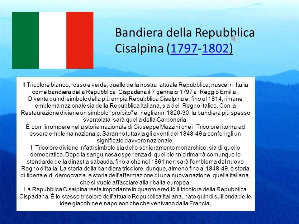 Bandiera della Repubblica Cisalpina (1797-1802)