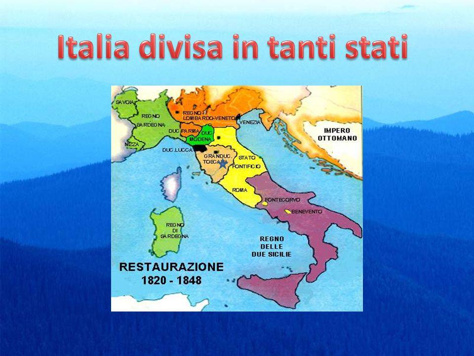 Italia divisa in tanti stati