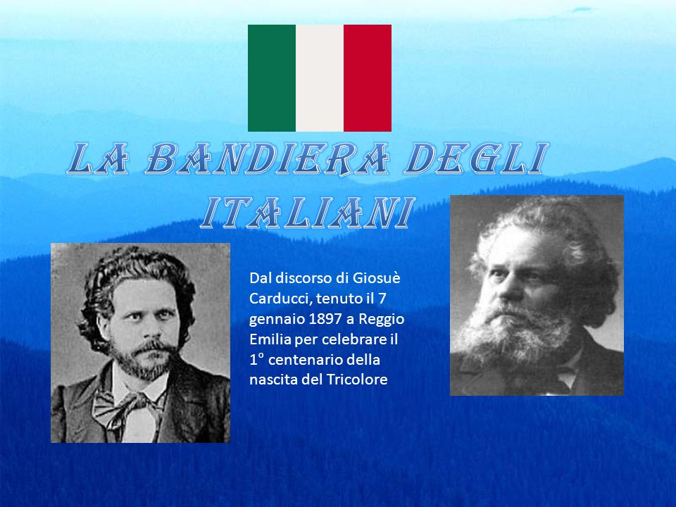 LA BANDIERA DEGLI ITALIANI