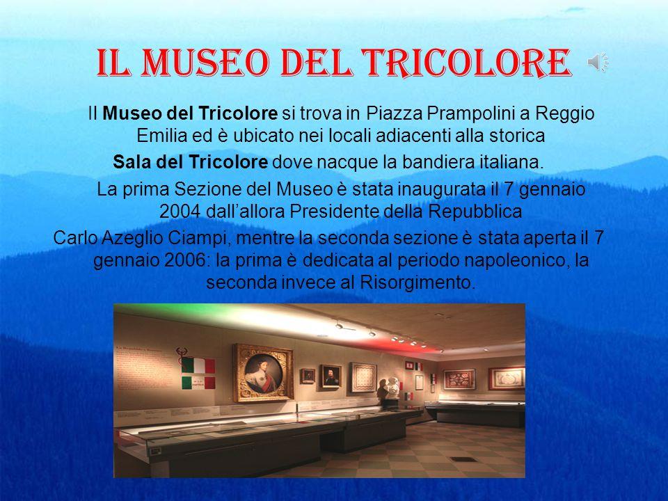 Sala del Tricolore dove nacque la bandiera italiana.