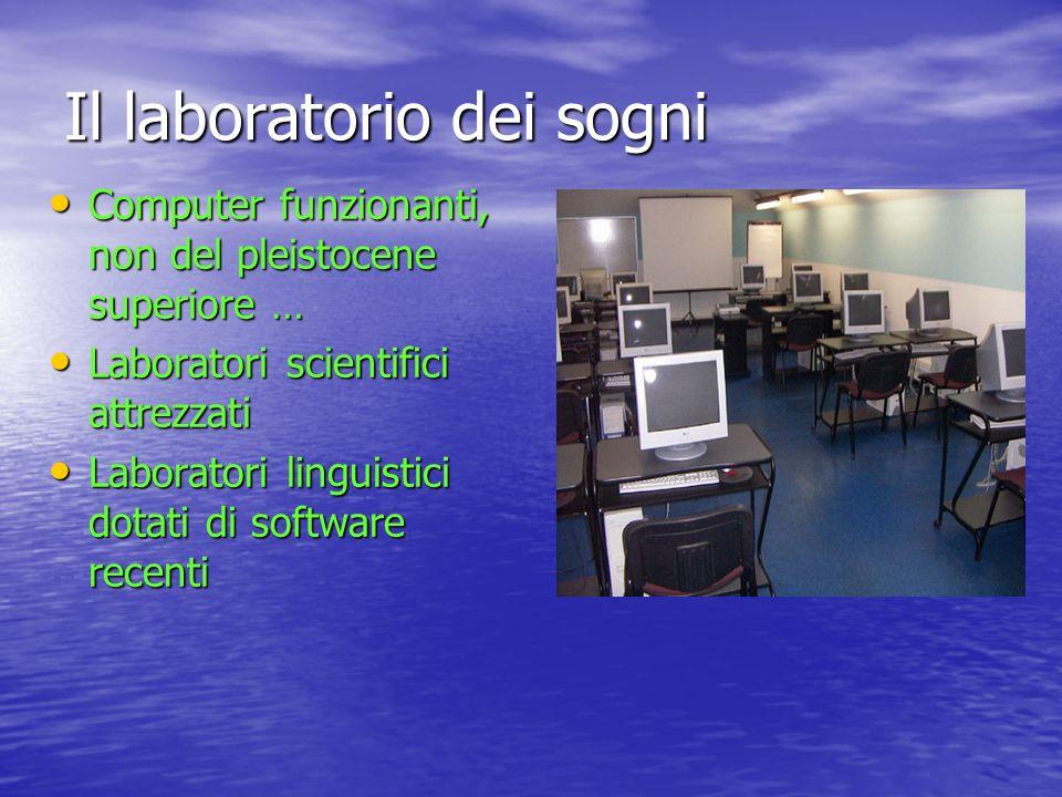 Il laboratorio dei sogni
