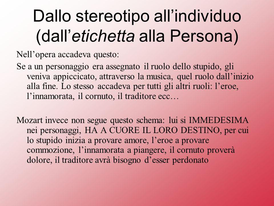 Dallo stereotipo all'individuo (dall'etichetta alla Persona)