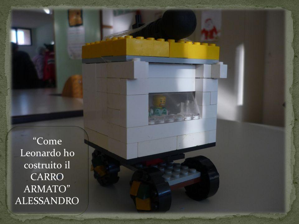 Come Leonardo ho costruito il CARRO ARMATO