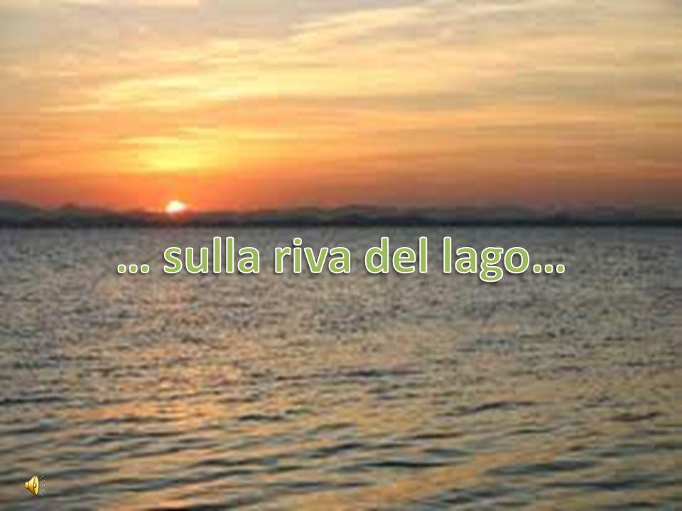 … sulla riva del lago…