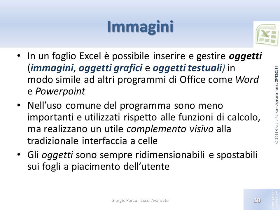 Giorgio Porcu - Excel Avanzato