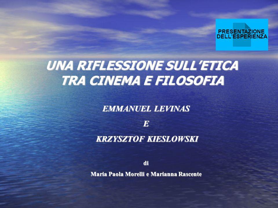UNA RIFLESSIONE SULL'ETICA TRA CINEMA E FILOSOFIA