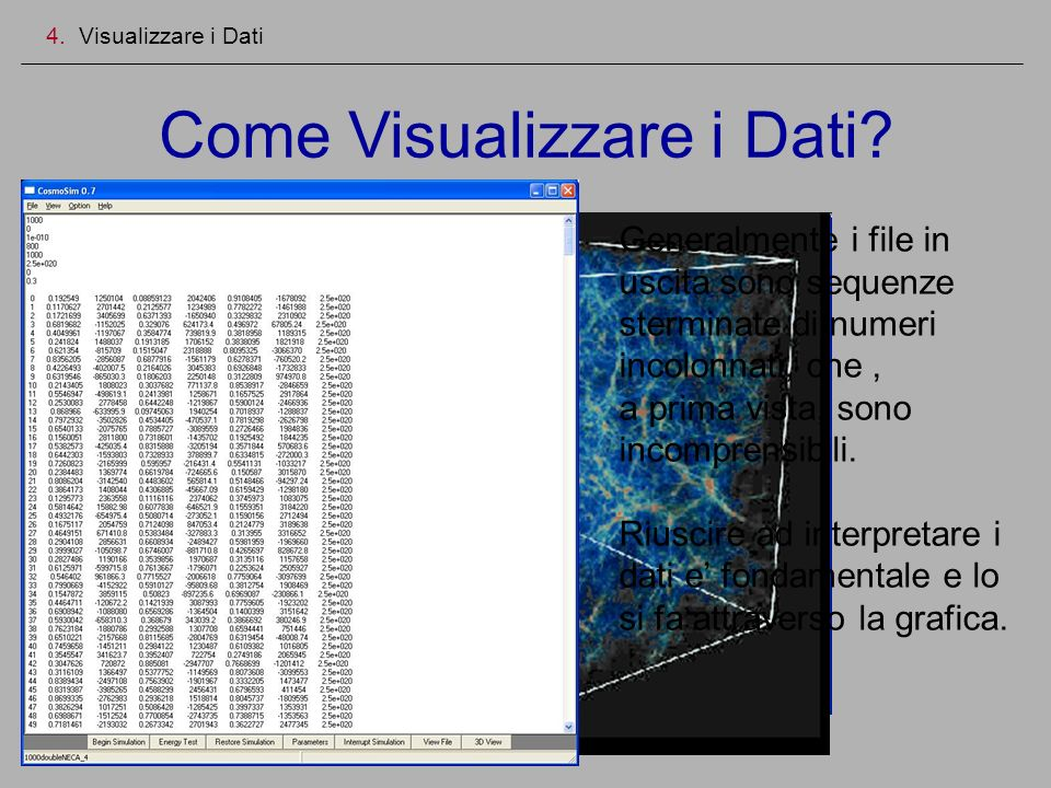 Come Visualizzare i Dati