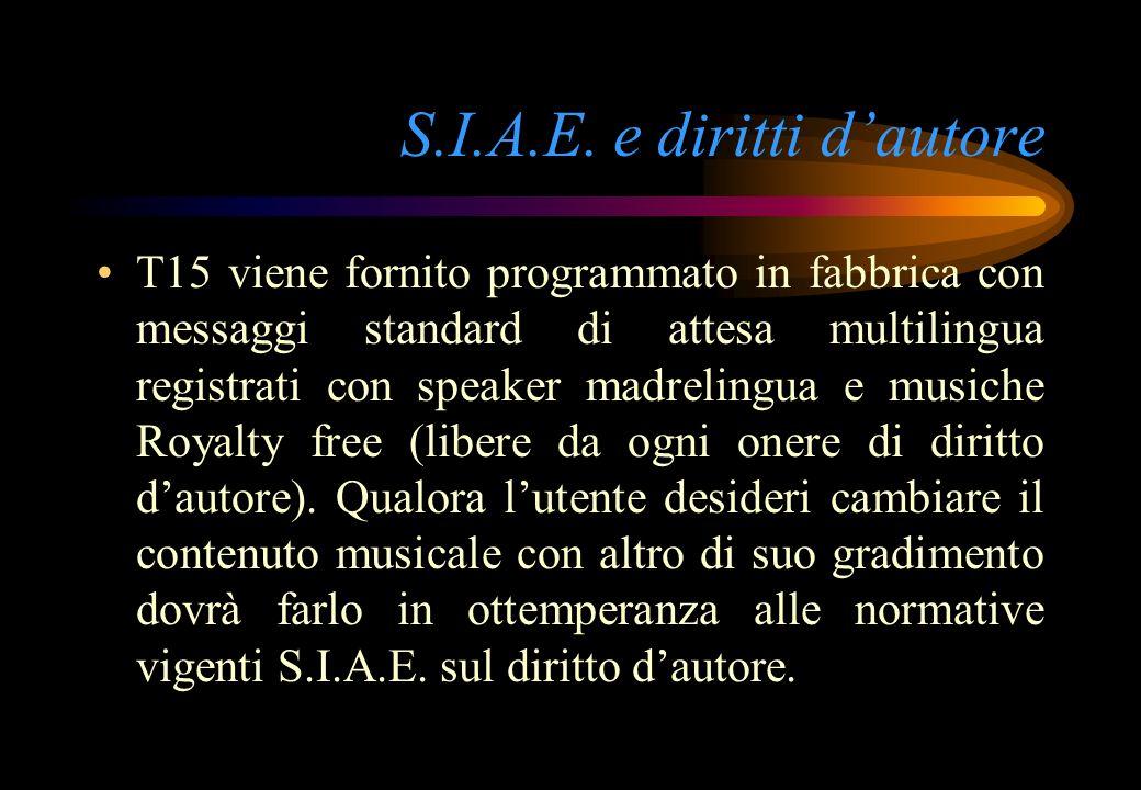 S.I.A.E. e diritti d'autore
