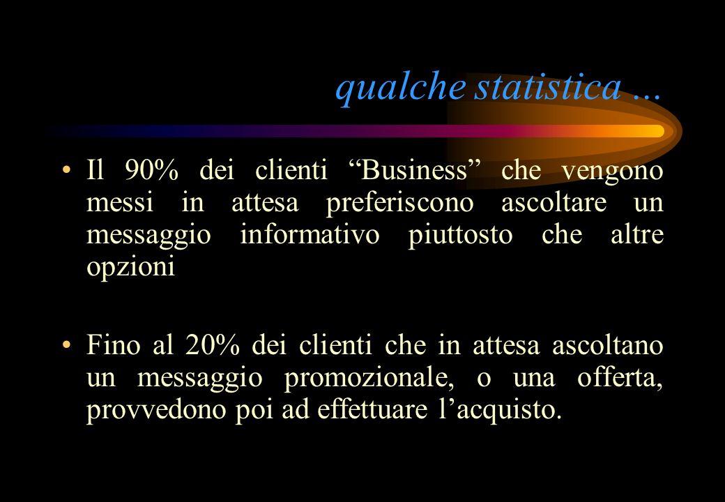 qualche statistica ...