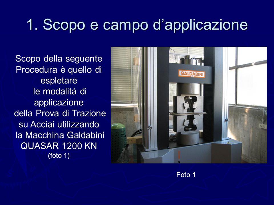 1. Scopo e campo d'applicazione