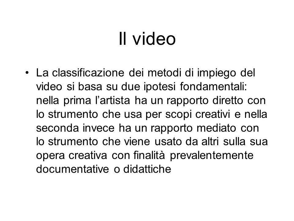 Il video