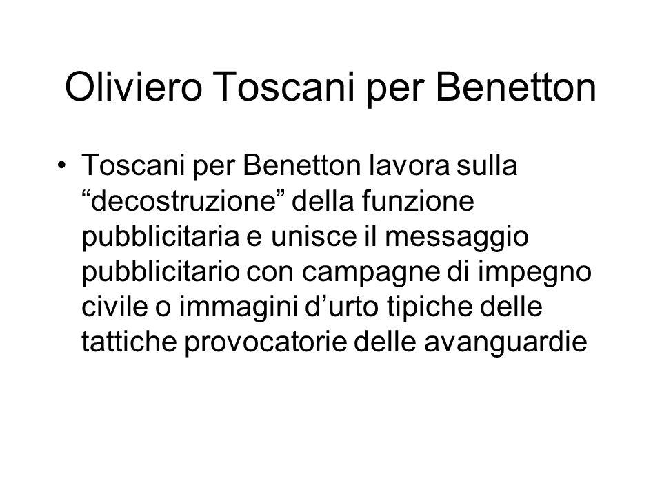 Oliviero Toscani per Benetton