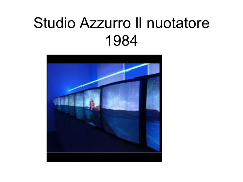 Studio Azzurro Il nuotatore 1984