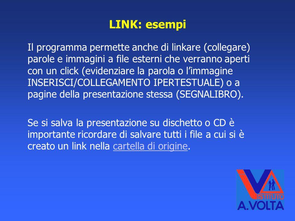 LINK: esempi