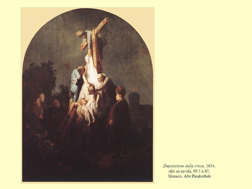 Deposizione dalla croce, 1634, olio su tavola, 89