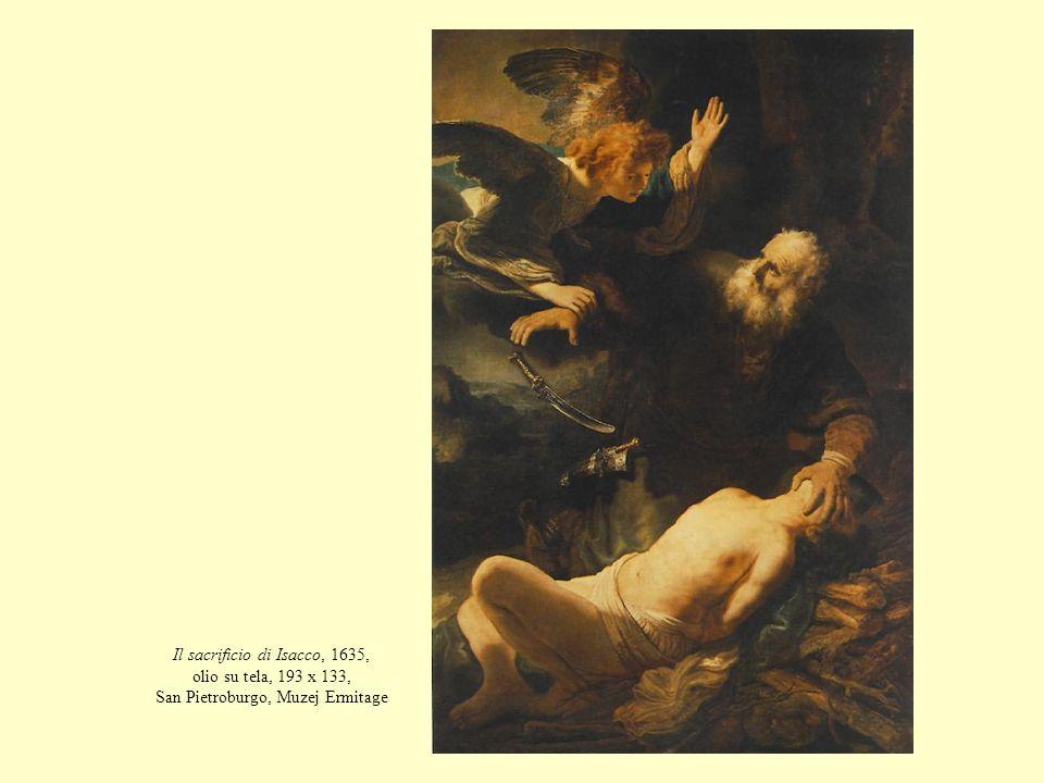Il sacrificio di Isacco, 1635, olio su tela, 193 x 133, San Pietroburgo, Muzej Ermitage