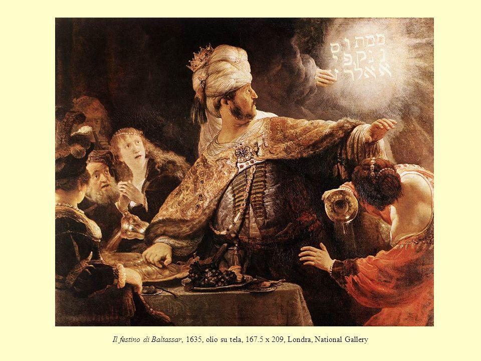 Il festino di Baltassar, 1635, olio su tela, 167
