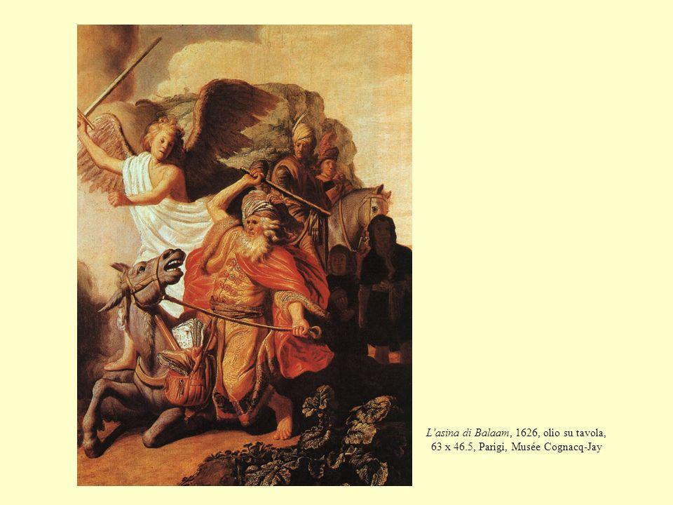 L'asina di Balaam, 1626, olio su tavola, 63 x 46