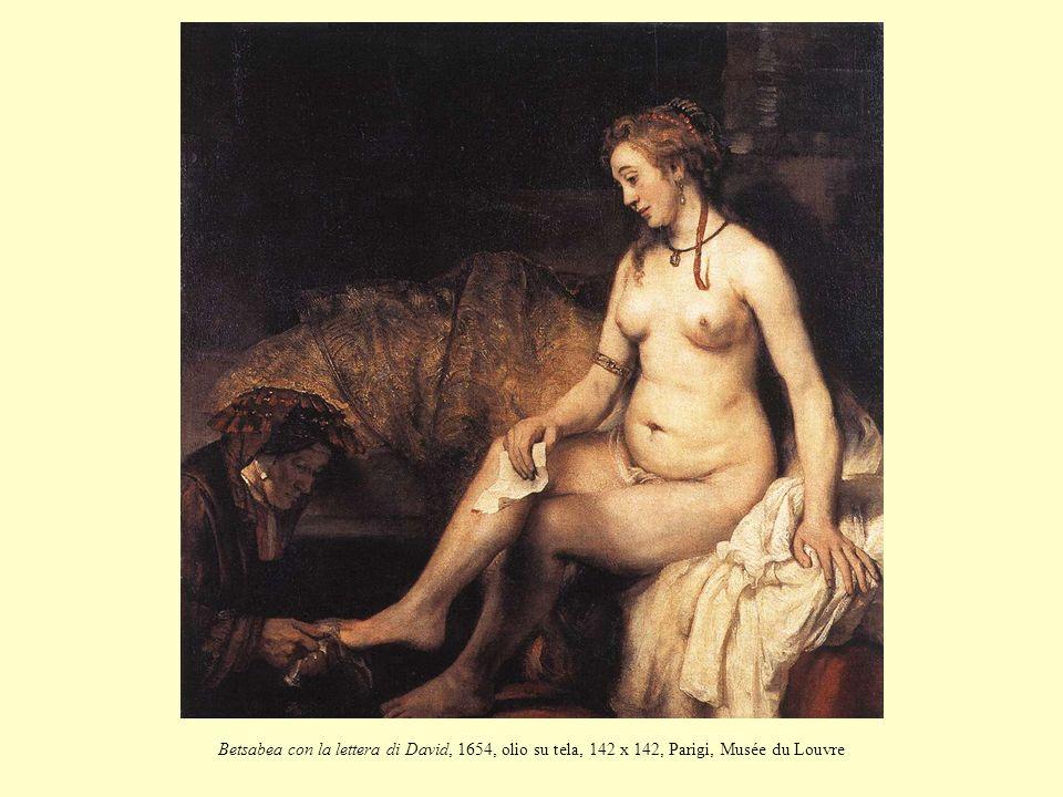 Betsabea con la lettera di David, 1654, olio su tela, 142 x 142, Parigi, Musée du Louvre