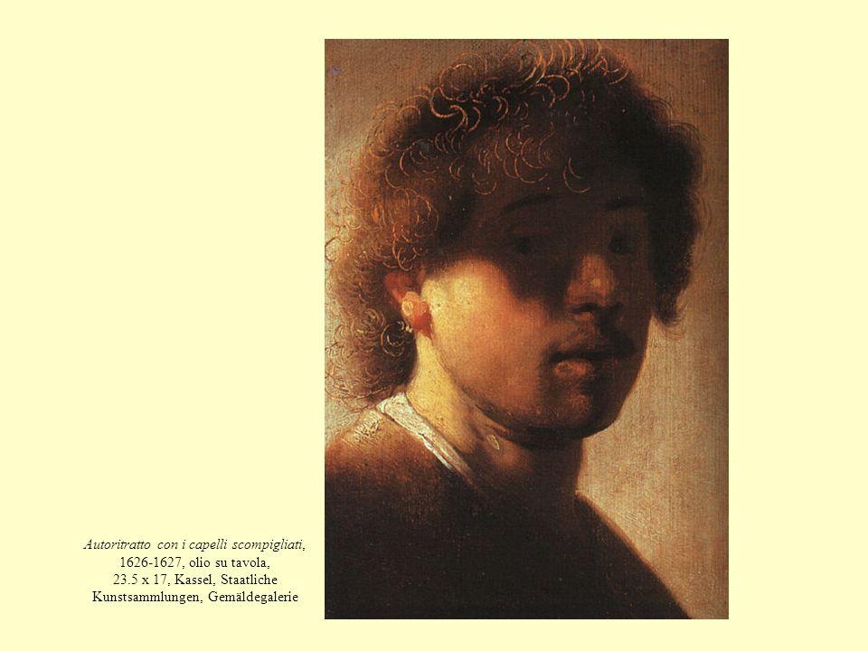 Autoritratto con i capelli scompigliati, 1626-1627, olio su tavola, 23