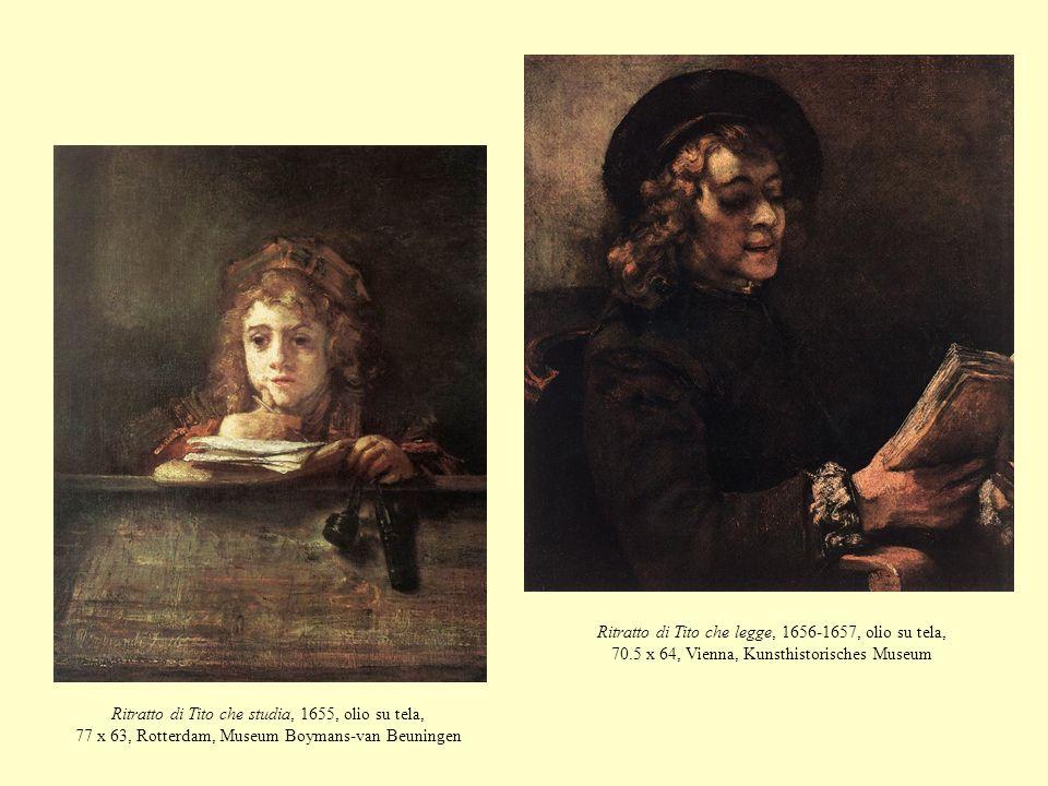 Ritratto di Tito che legge, 1656-1657, olio su tela, 70