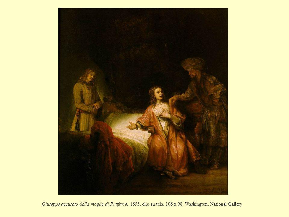 Giuseppe accusato dalla moglie di Putifarre, 1655, olio su tela, 106 x 98, Washington, National Gallery