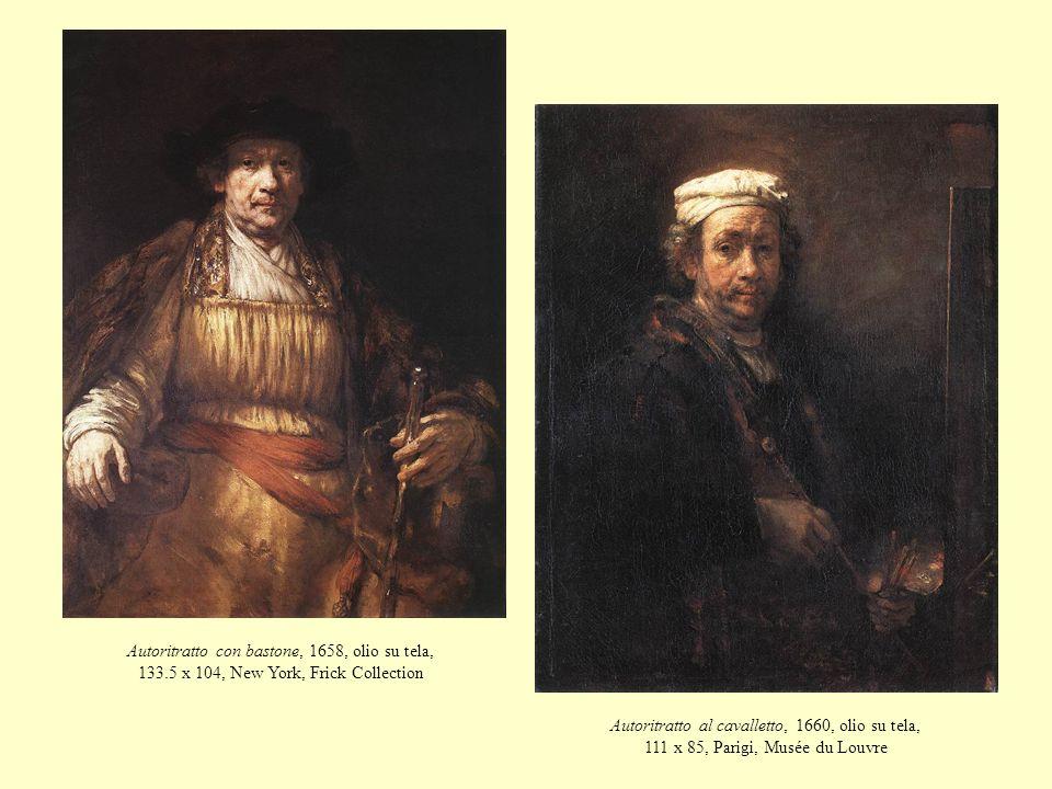 Autoritratto con bastone, 1658, olio su tela, 133