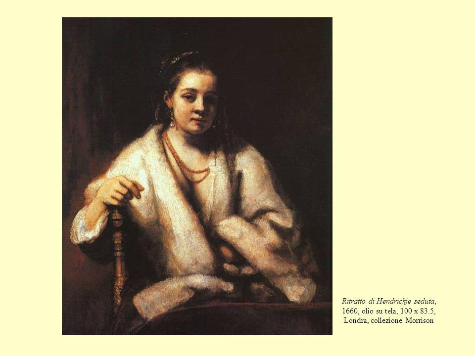 Ritratto di Hendrickje seduta, 1660, olio su tela, 100 x 83