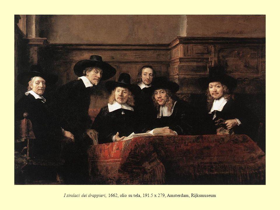 I sindaci dei drappieri, 1662, olio su tela, 191