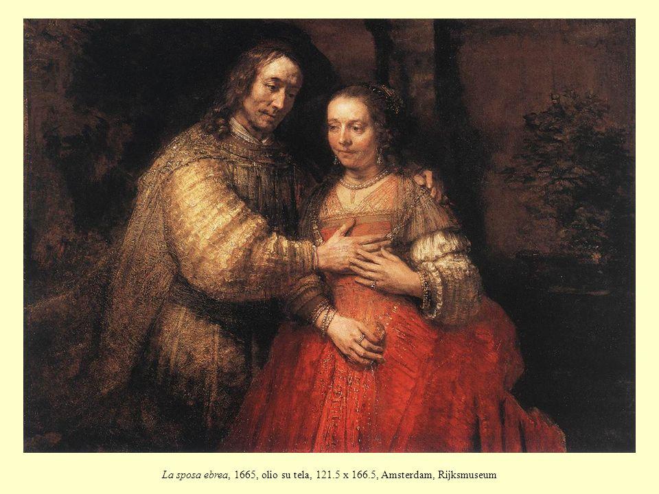 La sposa ebrea, 1665, olio su tela, 121. 5 x 166