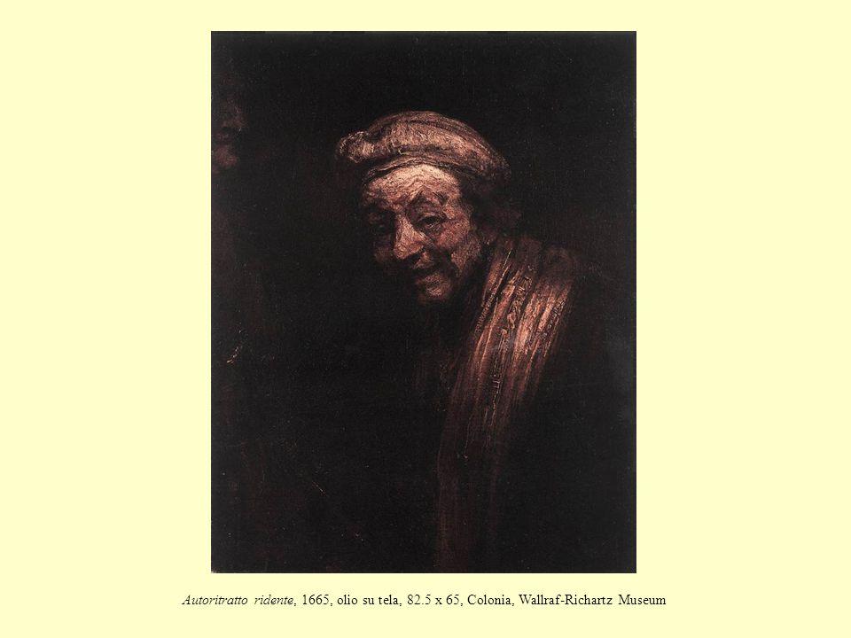 Autoritratto ridente, 1665, olio su tela, 82