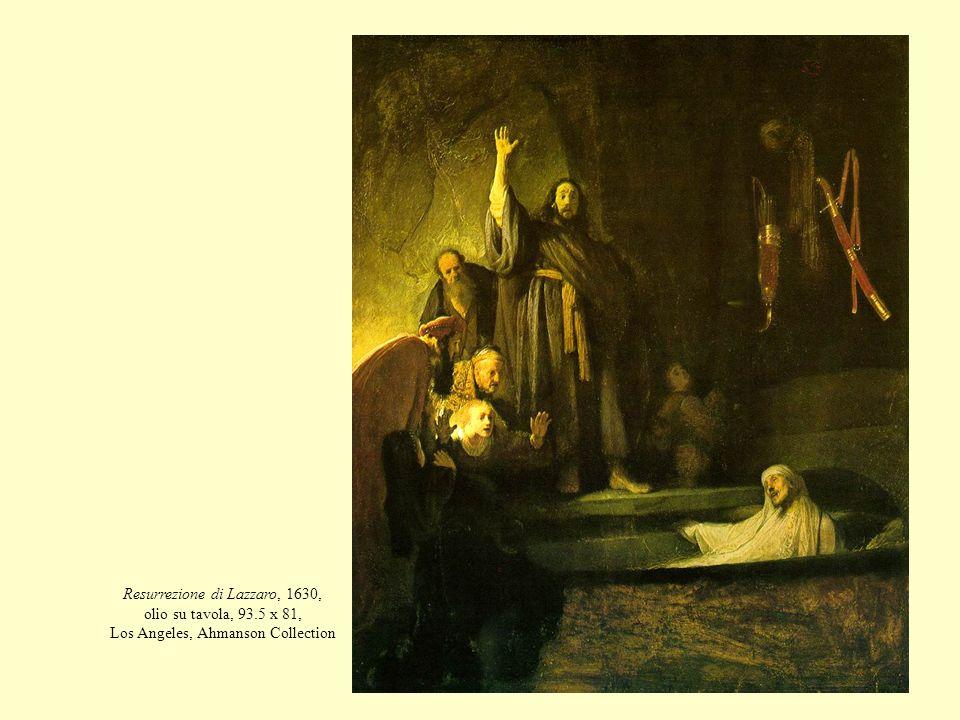 Resurrezione di Lazzaro, 1630, olio su tavola, 93