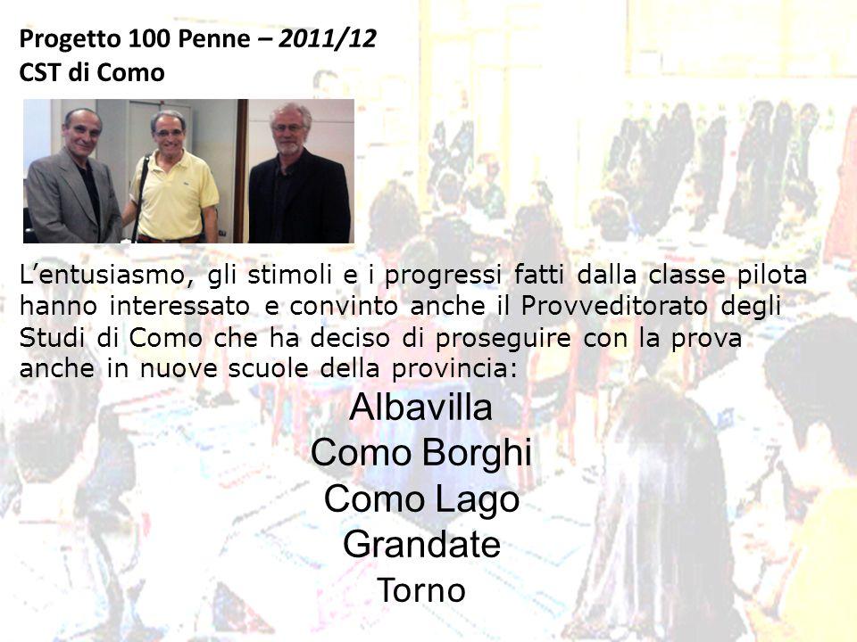 Progetto 100 Penne – 2011/12 CST di Como