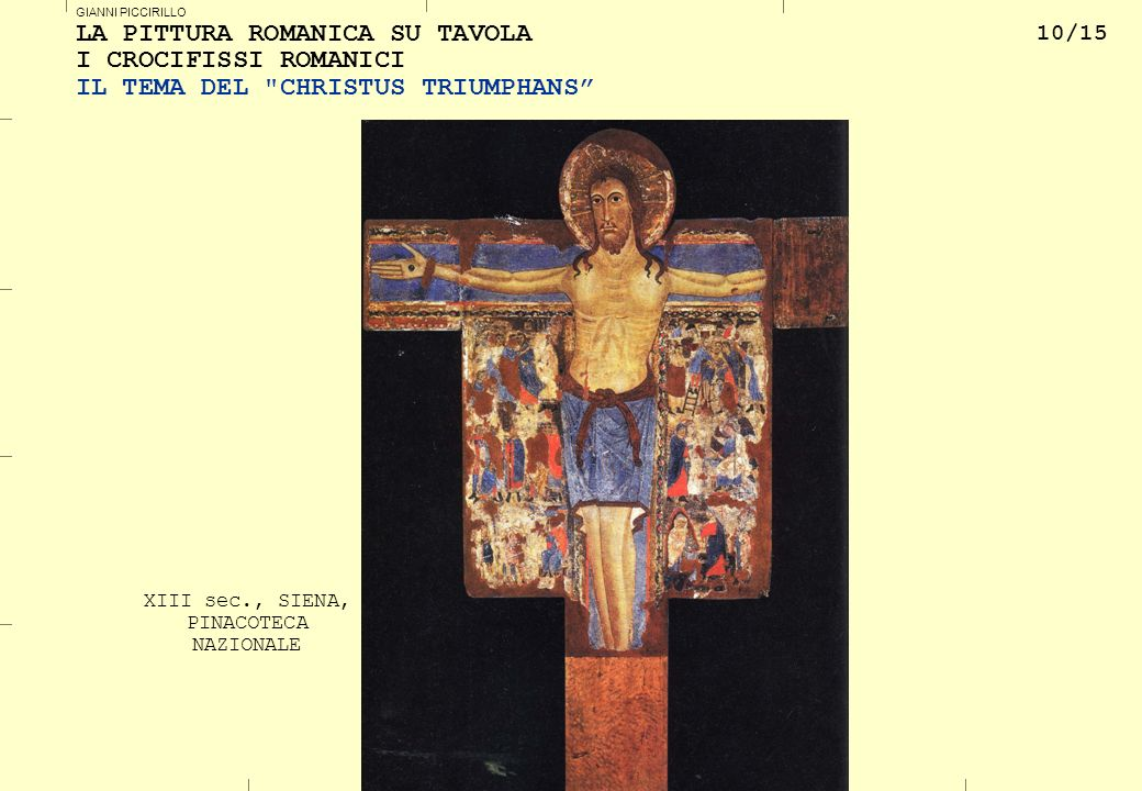 XIII sec., SIENA, PINACOTECA NAZIONALE