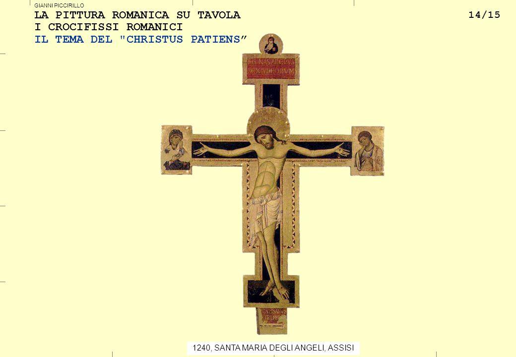 La pittura romanica su tavola le origini ppt scaricare - La tavola rotonda santa maria degli angeli ...