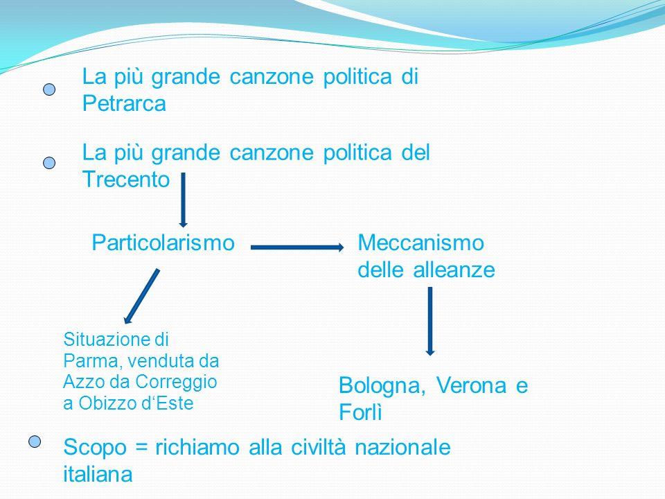 La più grande canzone politica di Petrarca