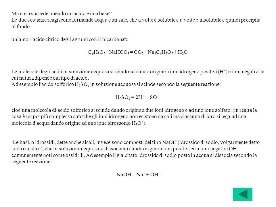 C6H8O7+ NaHCO3 = CO2 +Na3C6H5O7 + H2O