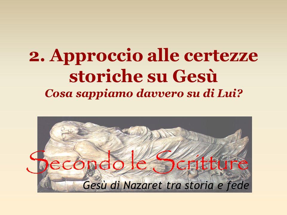 Secondo le Scritture Gesù di Nazaret tra storia e fede