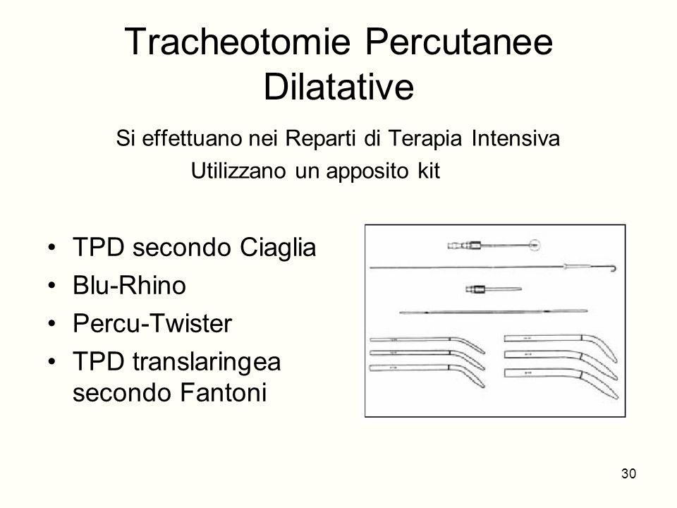 Tracheotomie Percutanee Dilatative