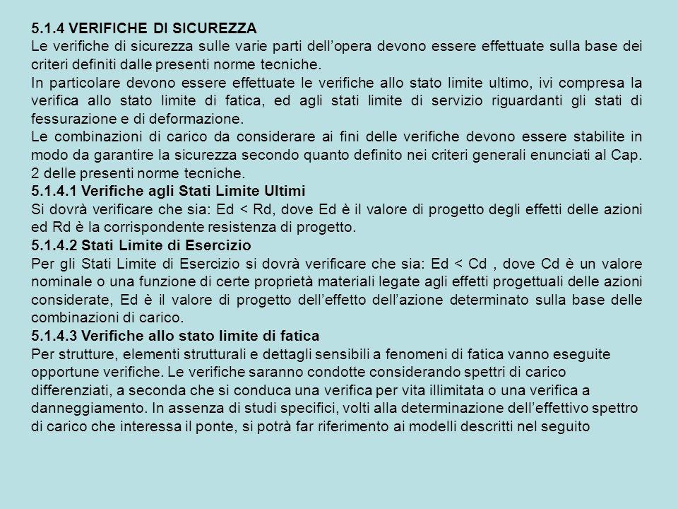 5.1.4 VERIFICHE DI SICUREZZA