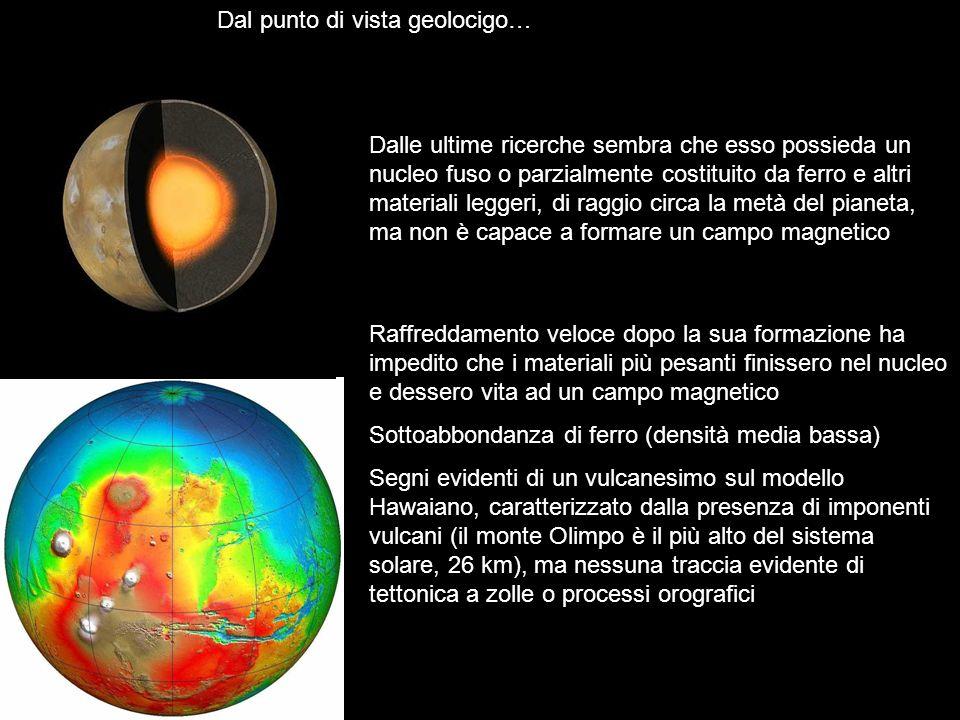 Dal punto di vista geolocigo…