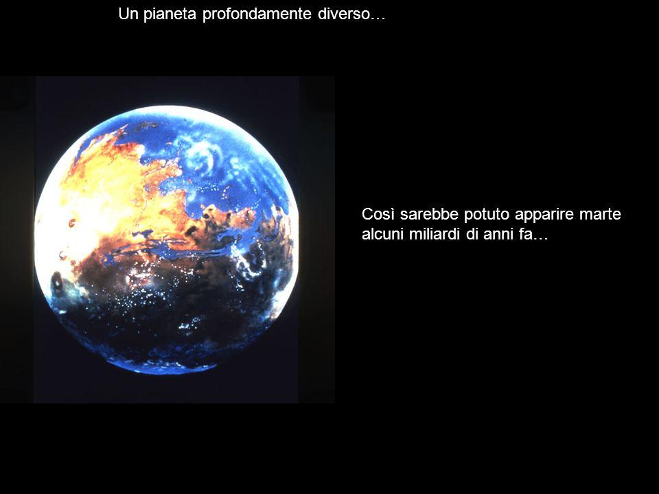 Un pianeta profondamente diverso…