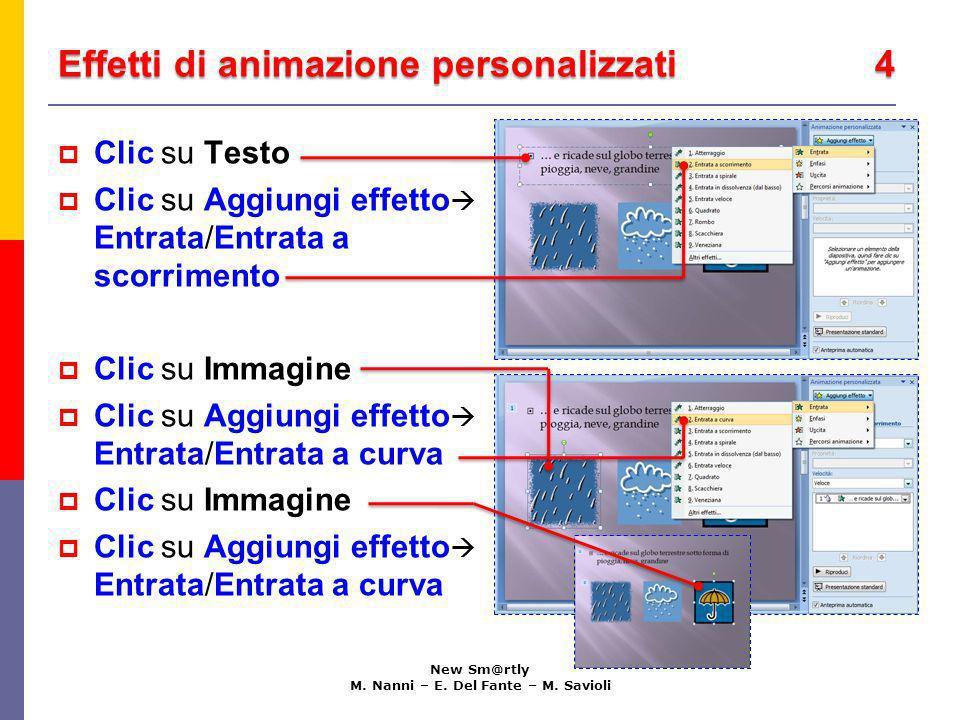 Effetti di animazione personalizzati 4