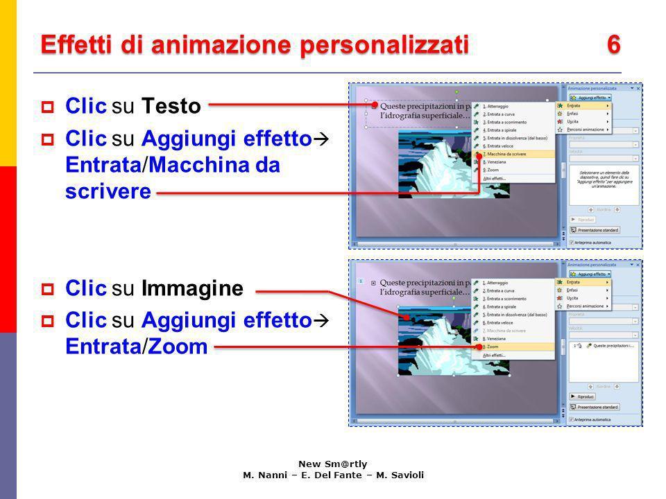 Effetti di animazione personalizzati 6